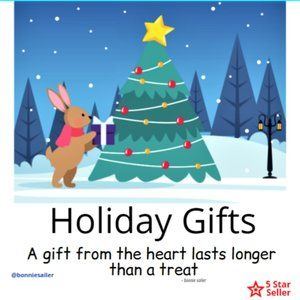 Holiday Gifts - something for everyone!